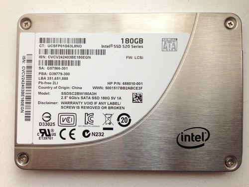 SSD Intel 180GB
