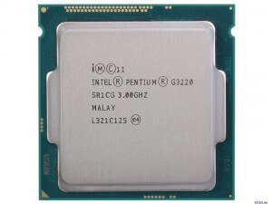 CPU G3220